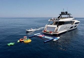 Toys onboard MY Alegria II