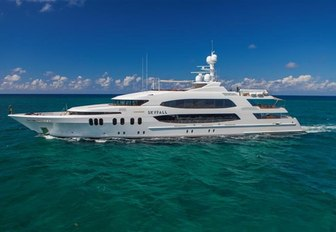 Trinity motor yacht SKYFALL will be on show at the Fort Lauderdale International Boat Show 2017