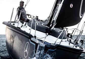 scia yacht with dan lenard on board