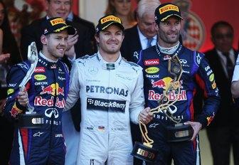 podium finishers at the Monaco Grand Prix