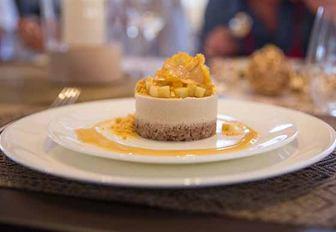 culinary contest dish created by Desiree Pierce of superyacht JOY