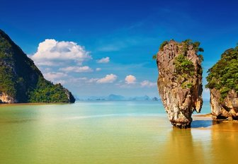 Cliffs in Andaman Islands