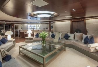 katina yacht main salon with skylight