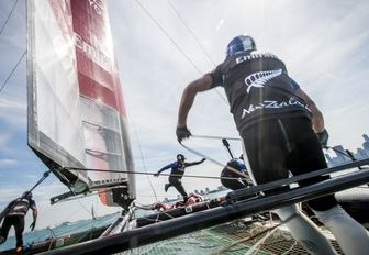 Emirates Team New Zealand at America's Cup World Series