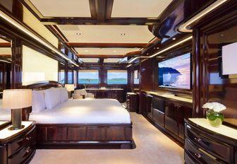 superyacht rockit stateroom