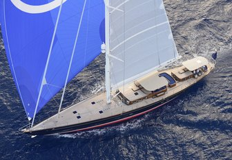 charter yacht ATALANTE will be competing at the Antigua Classic Yacht Regatta