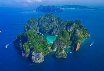 Below deck new charter destination: Phi Phi Islands in Thailand