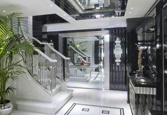 opulent main entryway aboard luxury yacht Silver Angel