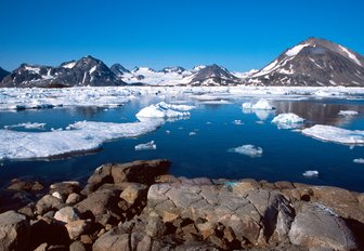 snow-capped landscapes of Greenland