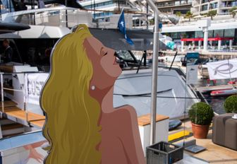 A fun stand at the MYS 2021
