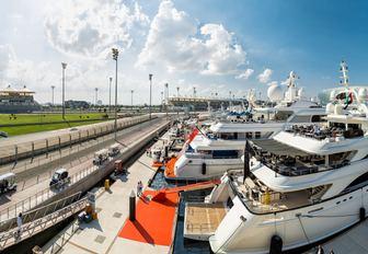 Abu Dhabi yachts