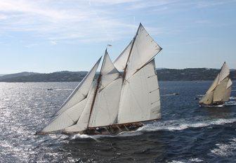 sailing yacht ELENA will compete at the Antigua Classic Yacht Regatta 2017