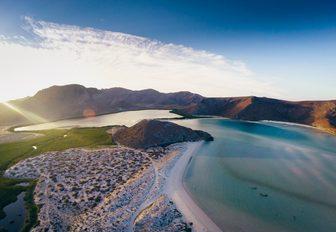 beautiful landscapes in the Baja Peninsula, Mexico
