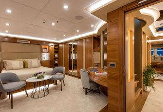 Guest accommodation on sailing yacht ARESTEAS
