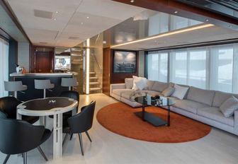 x superyacht sky lounge