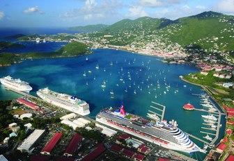 Marina, St Thomas virgin islands