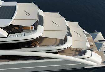 soaring yacht shaded decks