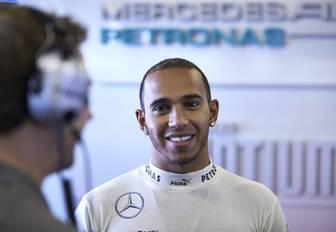 Lewis Hamilton, winner of the world championship title