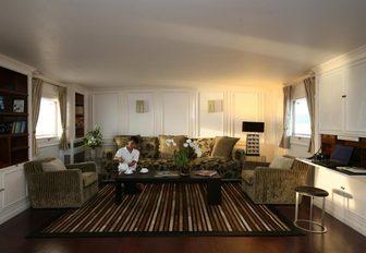 Lounge area on board CALISTO