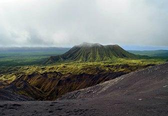 Views from Marum volcano in Ambrym Island, Vanuatu