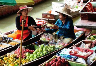 Women at Thai market