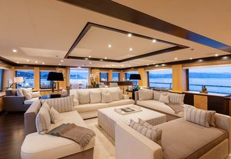 Newly renamed 55m motor yacht REVELRY now available for charter in Mediterranean photo 4