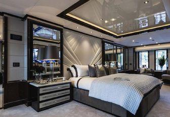 A guest cabin on board motor yacht 11/11