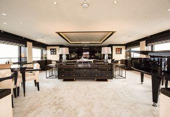 main lobby on luxury yacht elixir