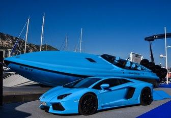 Prestige cars at Monaco Yacht Show 2018