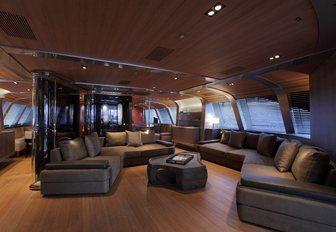 lounge on board Seahawk