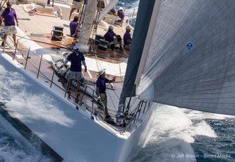 sailing yacht VISIONE at St Barths Bucket 2017