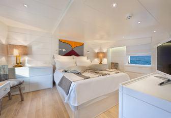 Master cabin, Vervece yacht