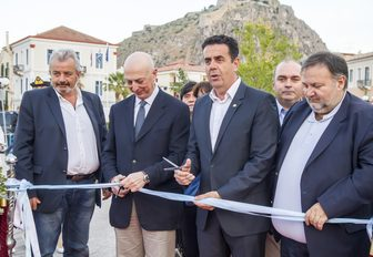 The opening of the Mediterranean Yacht Show 2016