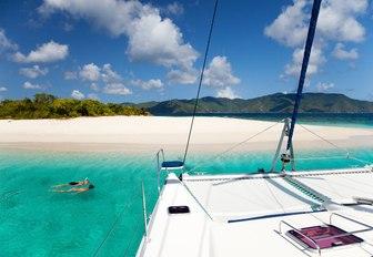 US Virgin Islands yacht
