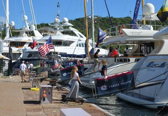 superyachts open their doors at the Antigua Charter Yacht Show
