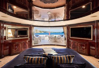 luxury yacht owners suite