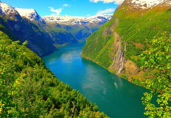 One of the fjords in Norway