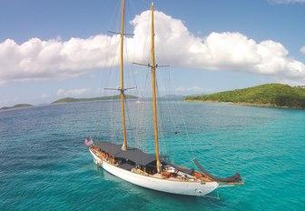 superyacht EROS will compete at the Antigua Classic Yacht Regatta 2017