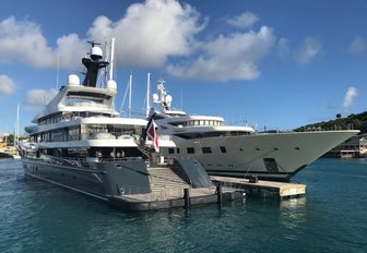 motor yacht Phoenix 2 at the Antigua Charter Yacht Show 2017