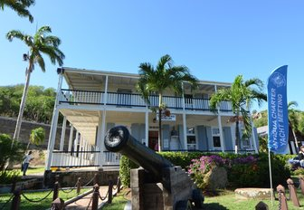 The Officers Quarters, Nelson's Dockyard Marina, during the Antigua Charter Yacht Show