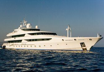 luxury yacht STARGATE in the Mediterranean