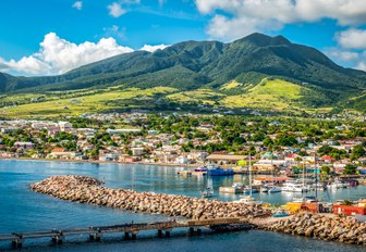 Mountains in St Kitts