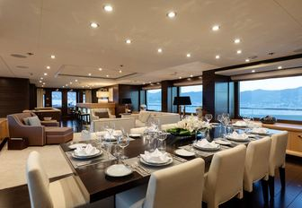 Newly renamed 55m motor yacht REVELRY now available for charter in Mediterranean photo 3