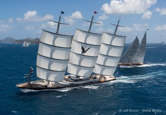 Charter Yachts Do Battle at St Barths Bucket 2017 photo 7