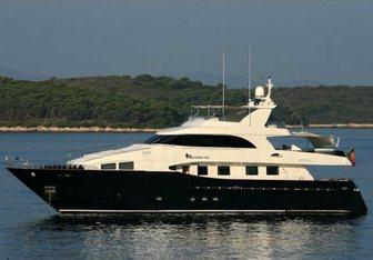 Lady Malak Yacht Charter in Menton