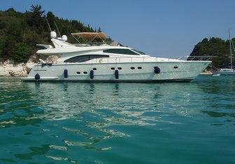 Ananas yacht charter Ferretti Yachts Motor Yacht