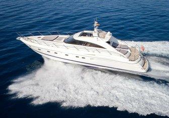 Sea Giens yacht charter Princess Motor Yacht