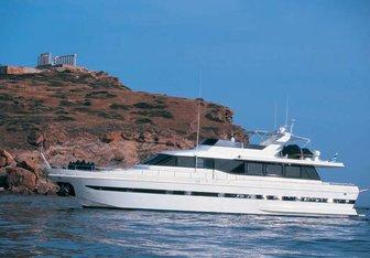 Amphitrite K.Y. yacht charter Falcon Motor Yacht