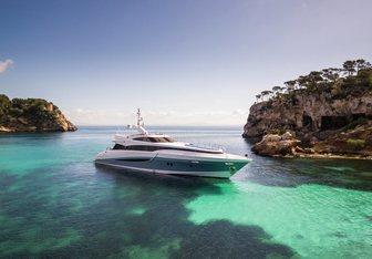 Benita Blue yacht charter Evolution Yachts Motor Yacht