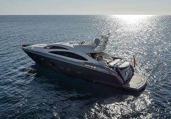 Alvium yacht charter Sunseeker Motor Yacht